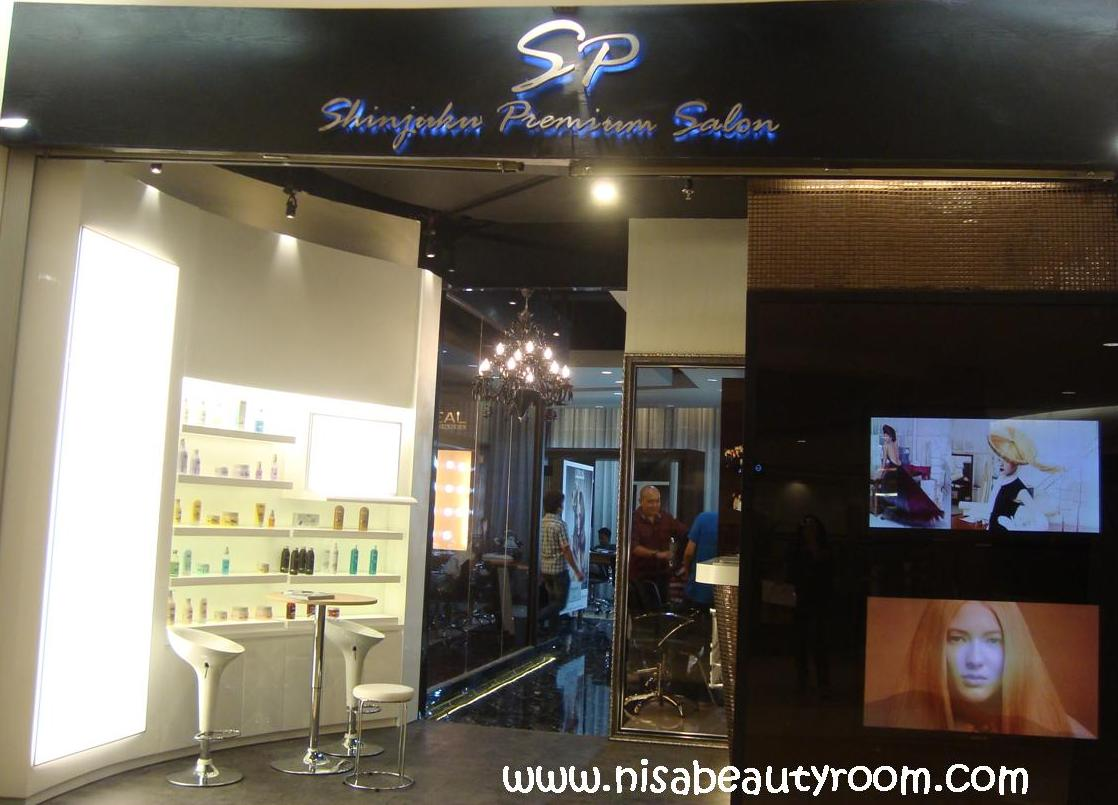 Makeover at Shinjuku Premium Salon