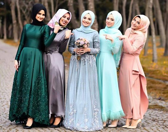 Sensa Greene : PHOTOS: Muslimah Bridesmaid Dresses