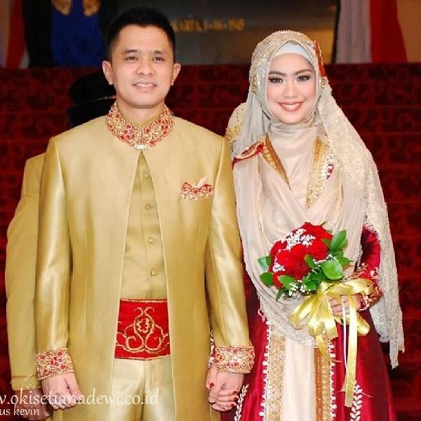 foto pernikahan oki