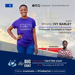 Ivy Barley Features In The First Episode Of iSel Media's show 'The Big Chat'