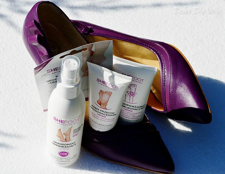 SheFoot kosmetyki do pielęgnacji stóp - recenzja