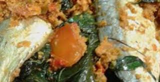 resep cara memasak ikan asin pepes peda