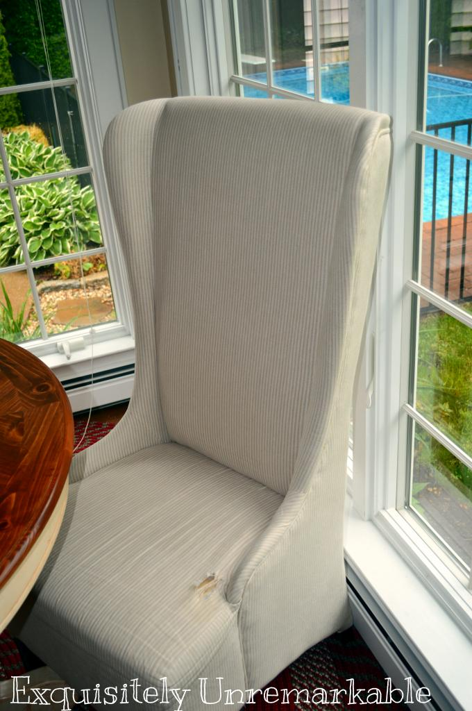 How To Repair A Torn Upholstered Chair