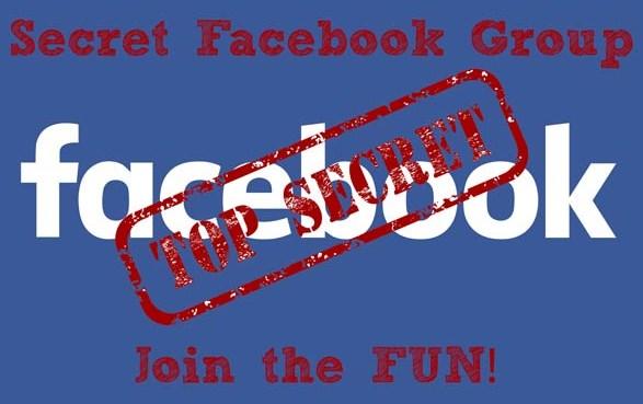 secret groups on facebook