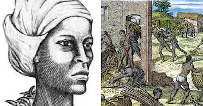 Breffu, woman from Ghana who led slave revolt in West Indies