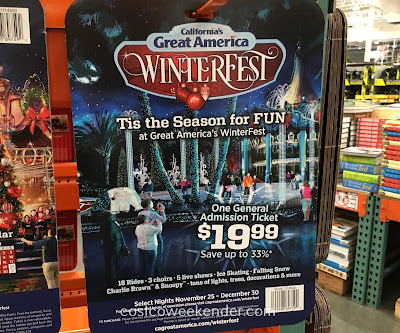 Experience a winter in sunny California at Great America's WinterFest