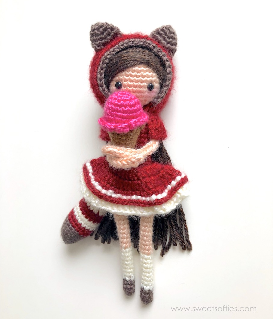 Amigurumi Tini Mini Kız Yapılışı-Free Pattern Tini Mini Dolls ... | 1060x907
