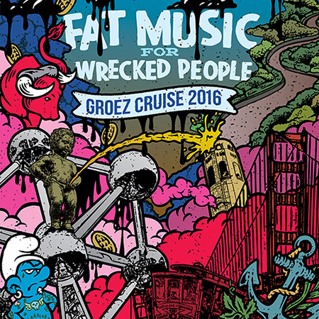 Fat Wreck Chords to release new compilation: 'Fat Music For Wrecked People: Groez Cruise 2016'