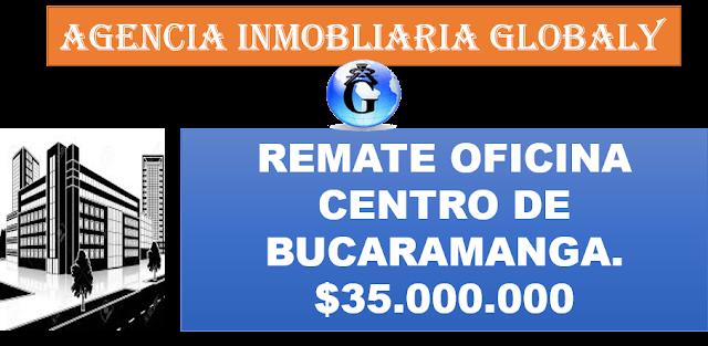 REMATE DE OFICINA CENTRO DE BUCARAMANGA COLOMBIA
