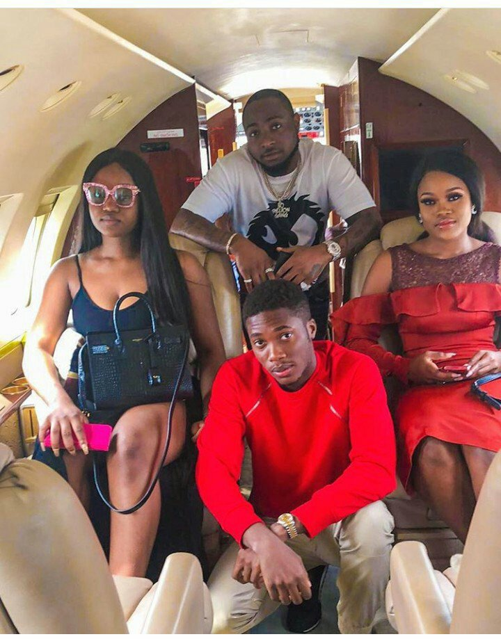Jany View's Blog: #BBNaija: Cee-C Flies Back To Lagos With