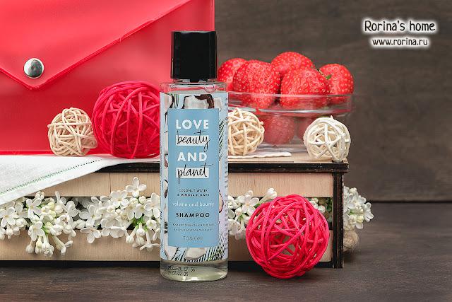 Love beauty and planet Шампунь для волос Coconut Water & Mimosa Flower «Объем и щедрость»: отзывы
