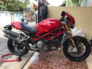 BURSA MOGE BEKAS FACEBOOK : Forsale Ducati monster S4RS 2007 Testatretta !!