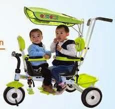 Sepeda roda tiga atau Sepeda