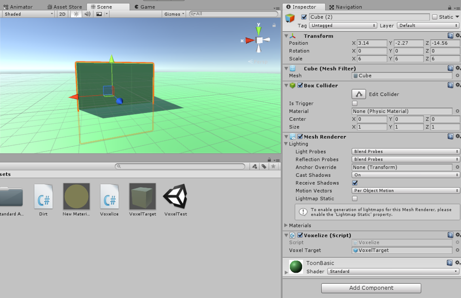 Stuff about Unity: Making basic diggble dirt in unity