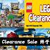 LEGO 清货大促销活动!LEGO迷不要错过这个机会!