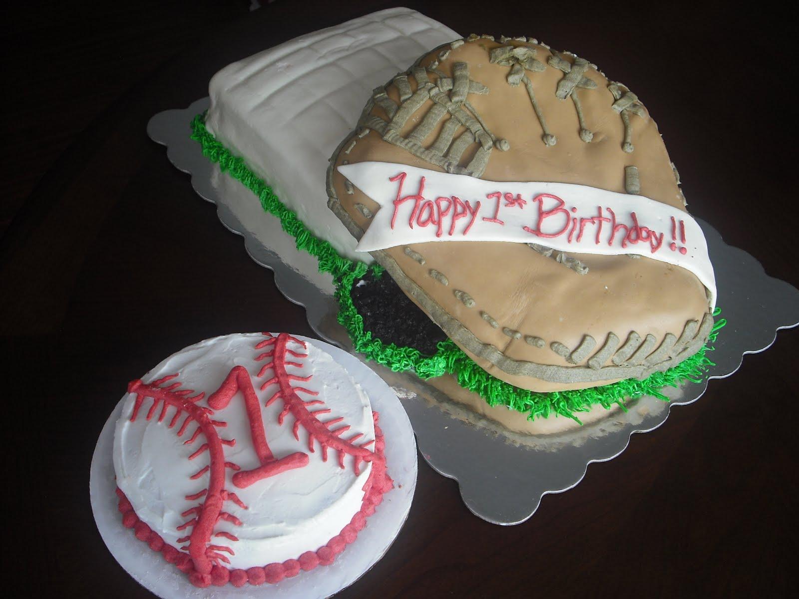 Dexter S Desserts Baseball Glove Cake