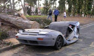 accidente dramático