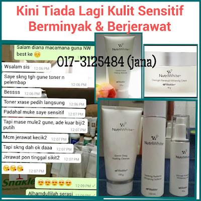pencuci muka organik untuk kulit sensitif dan berminyak