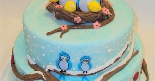 Enam Gambar Kue Ulang Tahun Tema Bentuk Burung Kumpulan