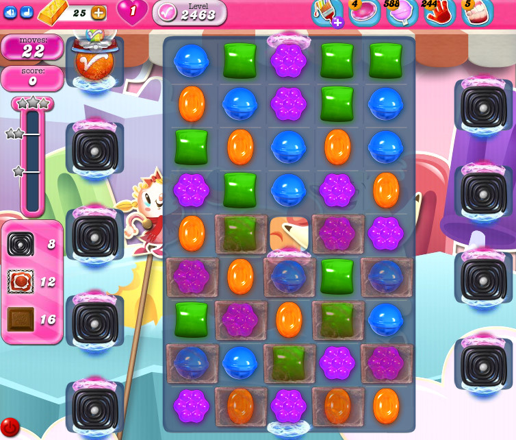 Candy Crush Saga level 2463