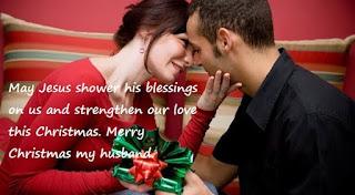 merry christmas husband greetings
