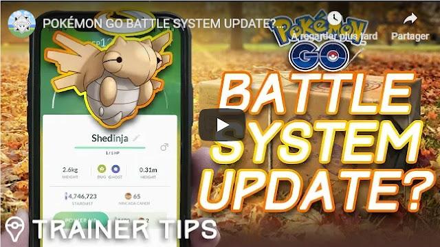 POKÉMON GO BATTLE SYSTEM UPDATE? Will Shedinja Bring Abilities to Pokémon GO