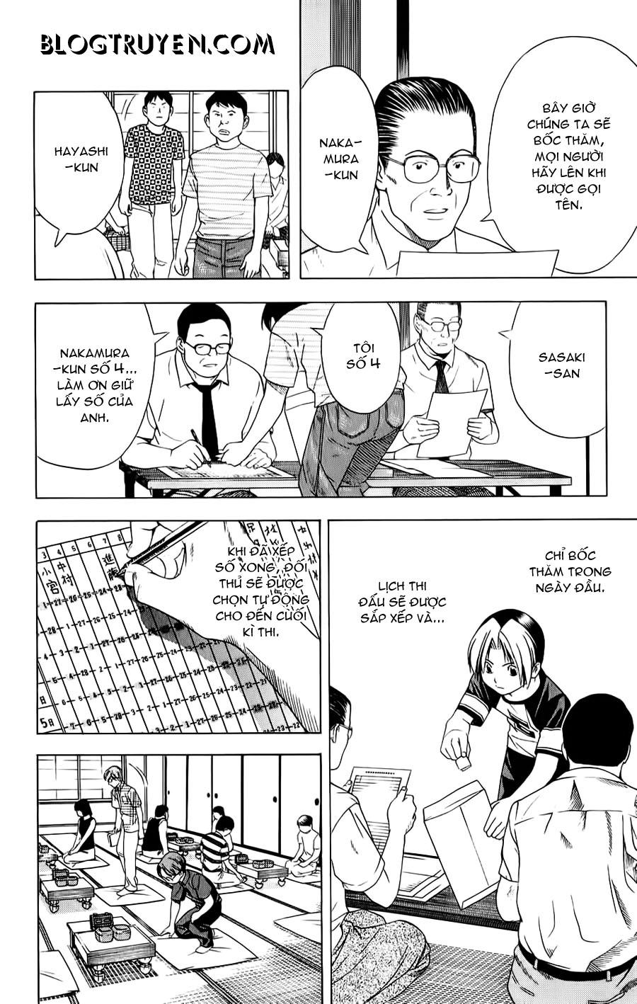 Hikaru No Go hikaru no go chap 77 trang 13