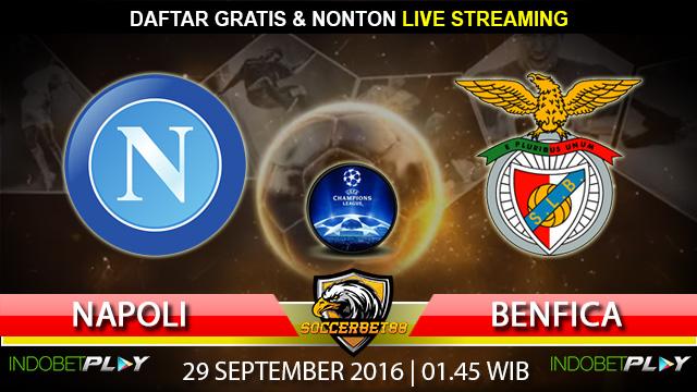 Prediksi Napoli vs Benfica 29 September 2016 (Liga Champions)
