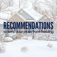 Follow These Recommendations to Keep Your Pipes From Freezing