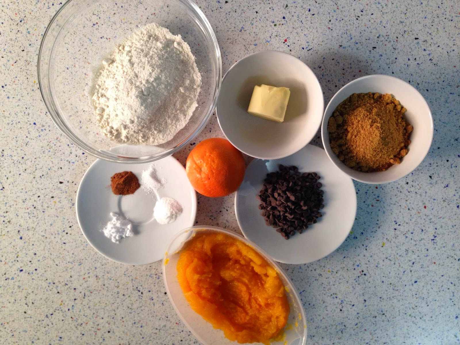Ingredientes galletas de calabaza
