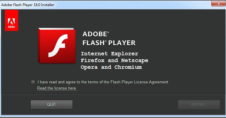 Flash Player 18 Fur Opera