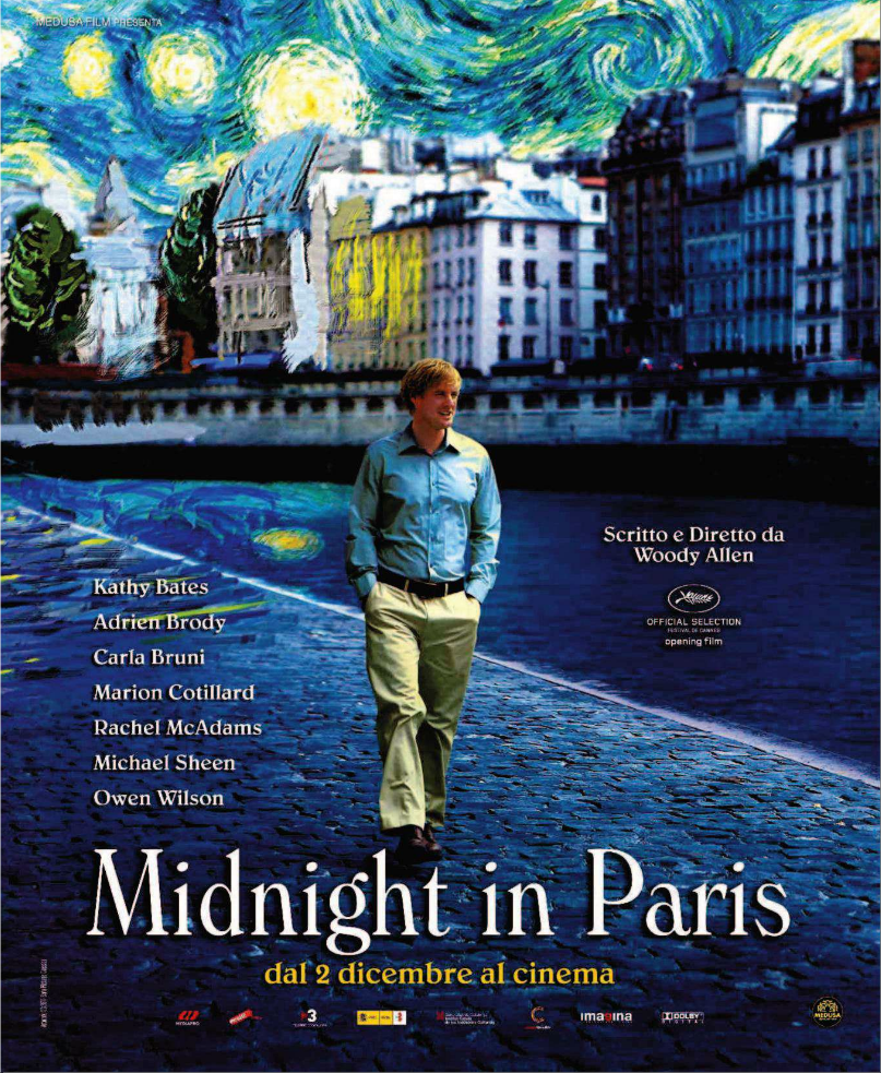 essays on midnight in paris Essay on midnight in paris 1672 words | 7 pages the star-studded romantic comedy midnight in paris is one of woody allen's most recent.