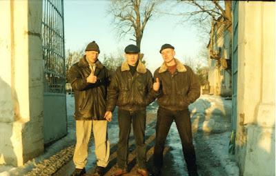 Караичев, Кашкин и Колесников в 2000 году