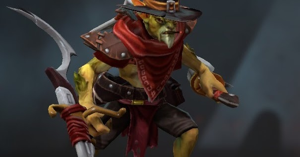 bounty hunter hunter with no name dota 2 mods