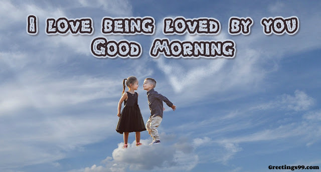 Good Morning Image with Love Couple
