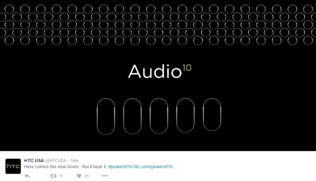 HTC One M10 akan memiliki fitur Boom Sound baru, rilis tanggal 12 April 2016
