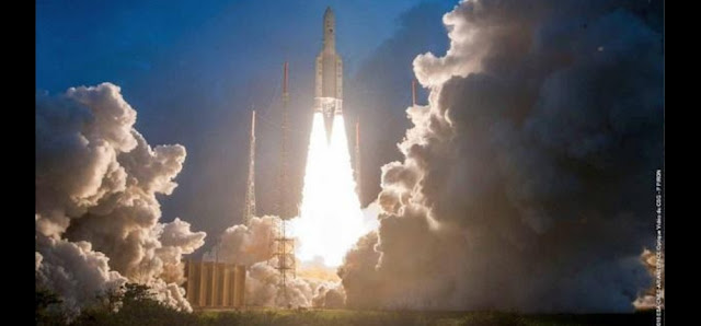 At 5,854 kg, GSAT-11 is India's heaviest satellite till date., GSAT-11 Successfully Launched: India's Heaviest Satellite Will Trigger 100 Gbps Internet Speed In India!, satellite,gsat 11 satellite,gsat 11 heaviest satellite,isro satellite launch,isro high internet speed,internet speed,satellite internet 1gbps speed,isro satellite,internet,gsat-11,gsat-11 high speed internet india,heaviest satellite,gsat 11 satellite launch date,gsat 11 internet speed,india using satellite internet,gsat 11 india heaviest satellite,satellite based internet in india