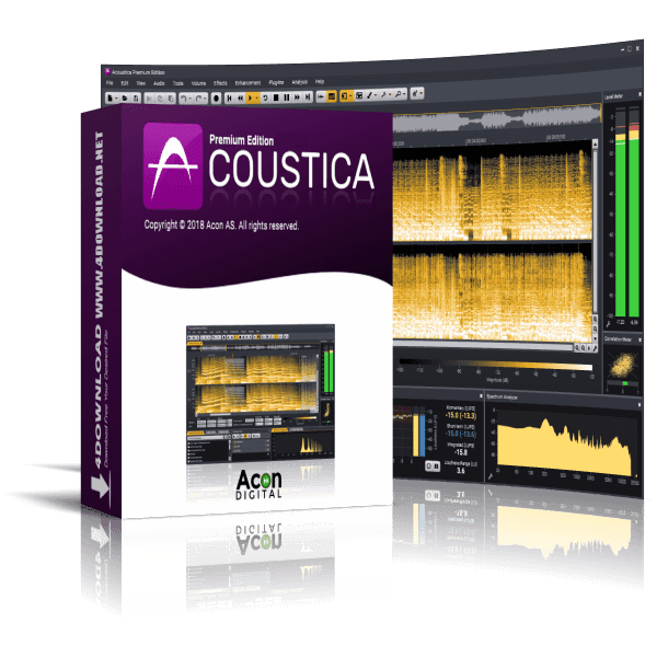 Acon Digital - Acoustica Premium Edition v7.1.8 Full version