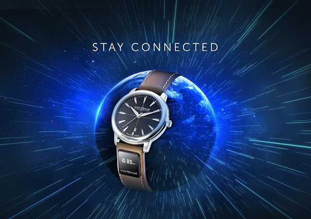 Sh connect strap from Saint-Honoré presents the digital world on your wrist