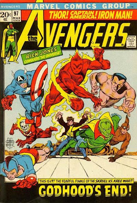 Avengers #97 The Kree/Skrull War finale
