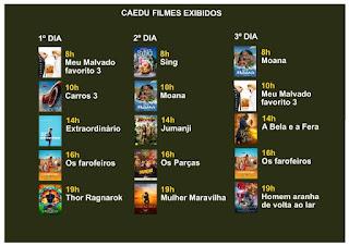 Cinema itinerante exibe filmes gratuitos em Registro-SP