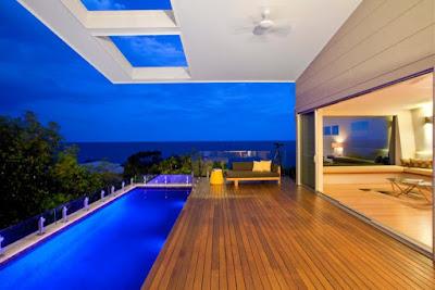 แบบบ้านหรูริมทะเล
