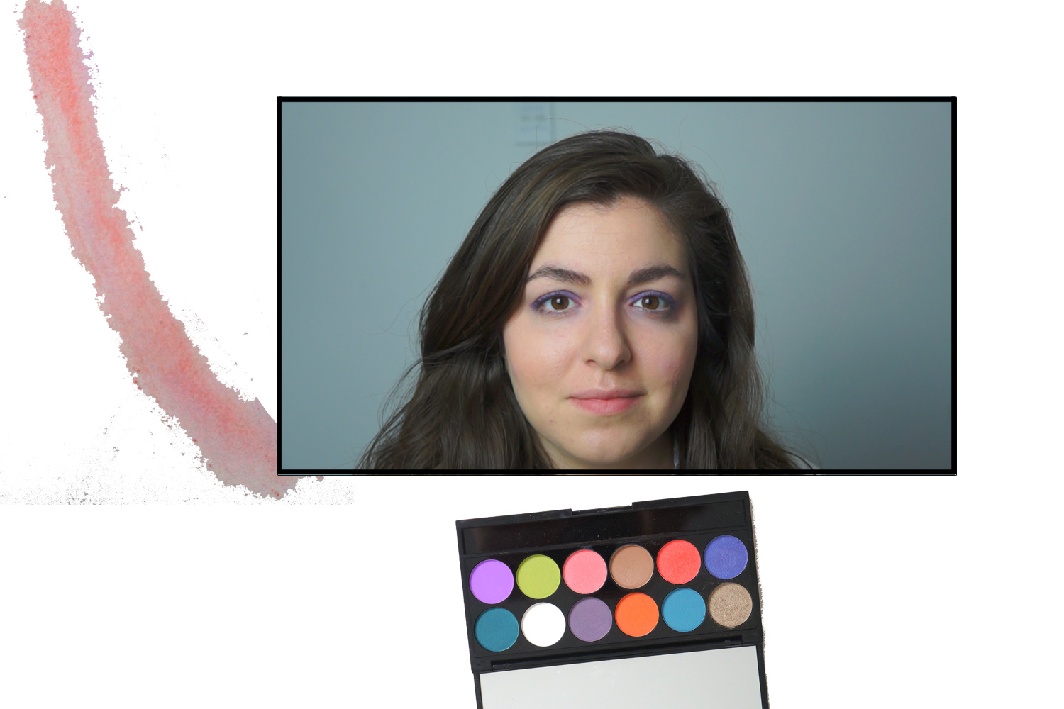 How To Create 5 S/S 17 Coloured Eyeshadow