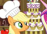 My Little Pony Applejack Wedding Cake juego