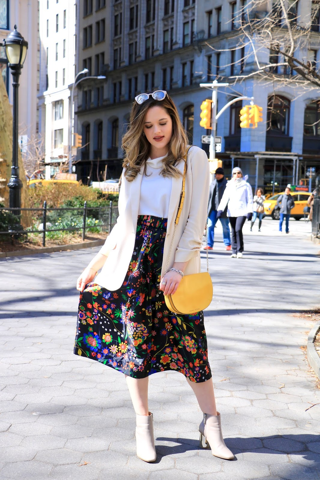 Nyc fashion blogger Kathleen Harper's 2019 spring fashion trends