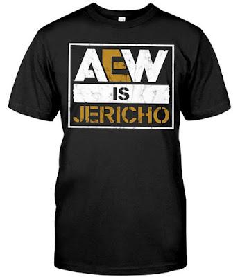 AEW Is Jericho T-Shirts Hoodie Sweatshirt. GET IT HERE