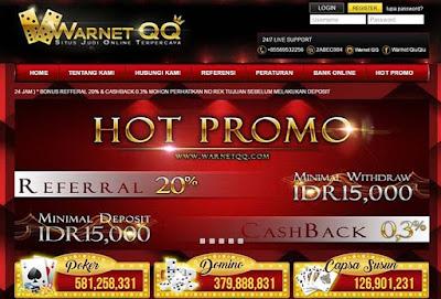 WARNETQQ Adalah Situs Judi Online Terpercaya Di Indonesia.