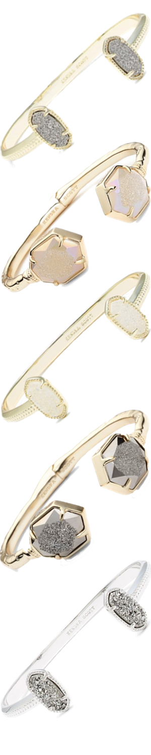 Kendra Scott Assorted Cuff Bracelets