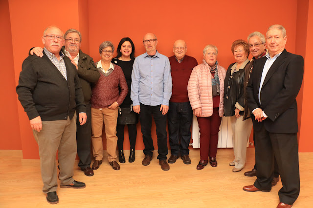 Junta directiva de la asociación de jubilados Arrontegiko Nagusiak