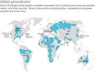 Groundwater Around The World (Credit: NG Maps. Sources: University Of California, Irvine; Whymap; Margat, 2008; Margat And Van Der Gun, 2013) Click to Enlarge.
